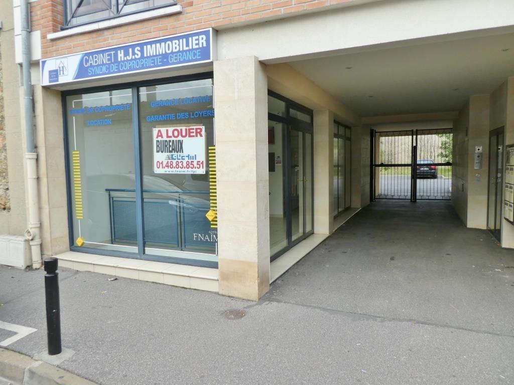 Location immobilier professionnel bureau boutique proche centre